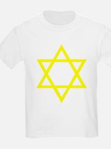 Yellow Star of David T-Shirt