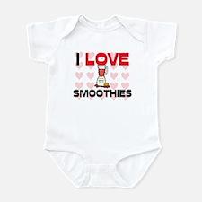 I Love Smoothies Infant Bodysuit
