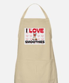 I Love Smoothies BBQ Apron