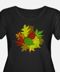Fall Foliage Leaves T