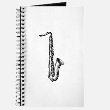 Woodcut Saxophone Journal