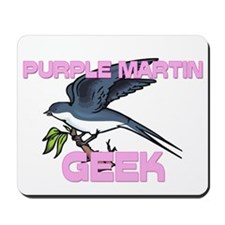 Purple Martin Geek Mousepad