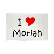 Moriah Rectangle Magnet