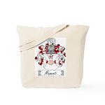 Manenti Family Crest Tote Bag