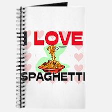 I Love Spaghetti Journal