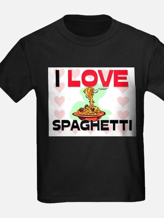 I Love Spaghetti T