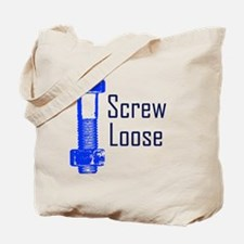 Screw Loose Tote Bag