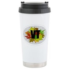 Vermont Fall Foliage Leaves Travel Mug