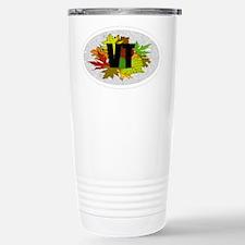 Vermont Fall Foliage Leaves Travel Mug
