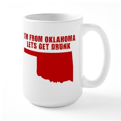 OKLAHOMA SHIRTS, FUNNY OKLAHO Large Mug