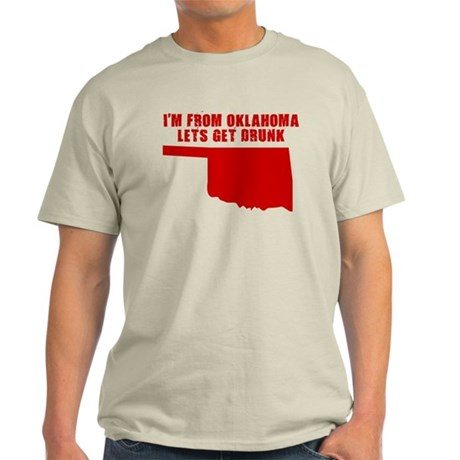OKLAHOMA SHIRTS, FUNNY OKLAHO Light T-Shirt