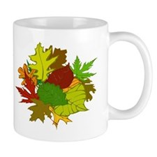 Fall Foliage Leaves Mug