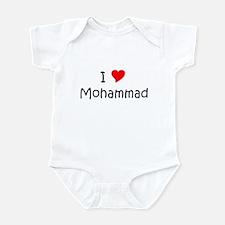 Funny Mohammad Infant Bodysuit