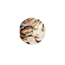 Kitty & Kat Mini Button