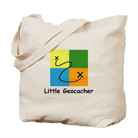 Little Geocacher Tote Bag