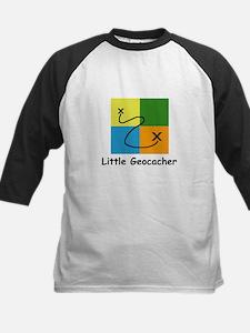 Little Geocacher Kids Baseball Jersey