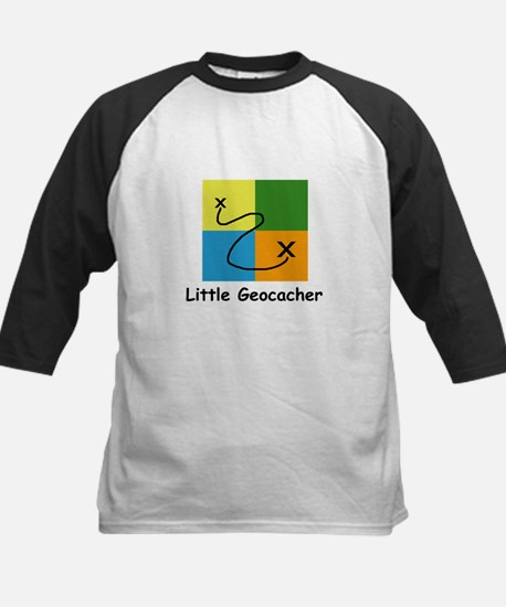 Little Geocacher Kids Baseball Jersey