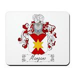 Mangano Family Crest Mousepad