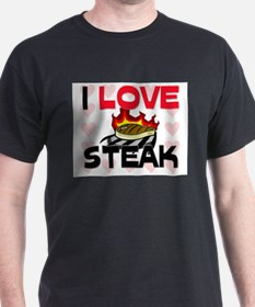 I Love Steak T-Shirt