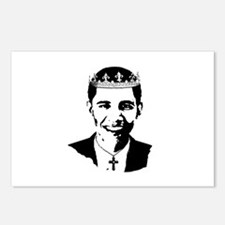 King Obama Postcards (Package of 8)