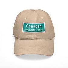 Oshkosh Population Baseball Cap