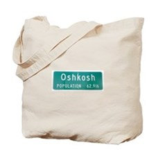 Oshkosh Population Tote Bag