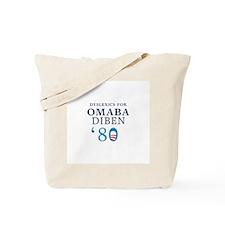 Dyslexics for Obama Biden 08 Tote Bag