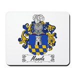 Manola Family Crest Mousepad