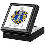 Manola Family Crest Keepsake Box