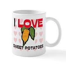 I Love Sweet Potatoes Mug