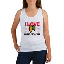 I Love Sweet Potatoes Women's Tank Top