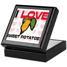 I Love Sweet Potatoes Keepsake Box