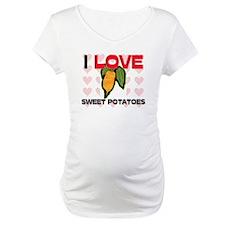 I Love Sweet Potatoes Shirt