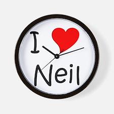 Cute Neil Wall Clock