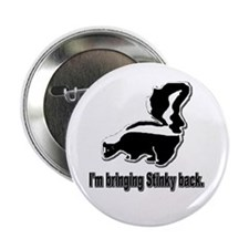 "Stinky Skunk 2.25"" Button (10 pack)"