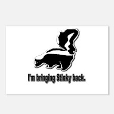 Stinky Skunk Postcards (Package of 8)