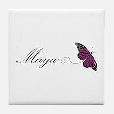 Maya Tile Coaster