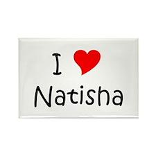 Unique Natisha Rectangle Magnet