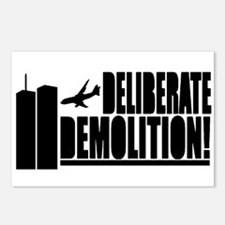 Deliberate Demolition! Postcards (Package of 8)