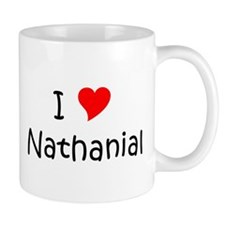 Cute Heart nathanial Mug