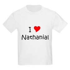 Cute Heart nathanial T-Shirt