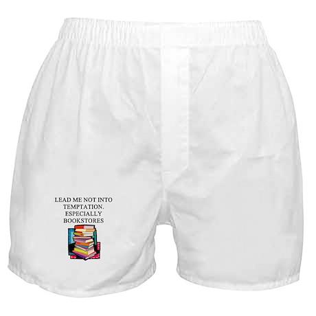 books reading Boxer Shorts