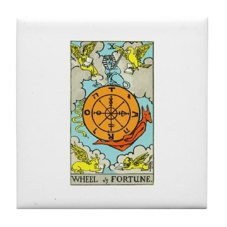 Wheel of Fortune Tile Coaster