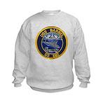 USS BARBEL Kids Sweatshirt