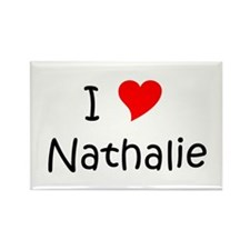 Funny Nathaly Rectangle Magnet