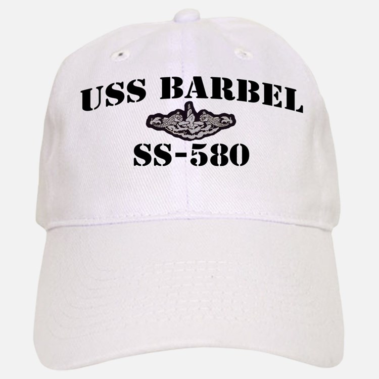 USS BARBEL Baseball Baseball Cap