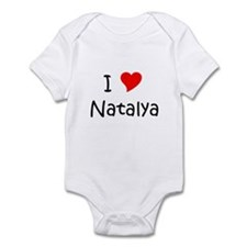 Natalya Infant Bodysuit