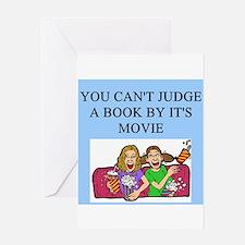 books movies Greeting Card