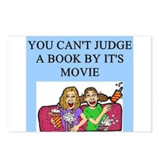 books movies Postcards (Package of 8)