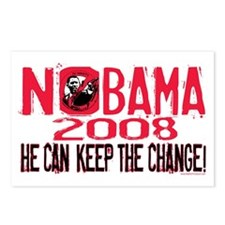 Nobama Keep the Change Postcards (Package of 8)